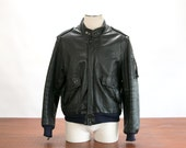 Vintage Hein Gericke Black Motorcycle Jacket - Size 50 // Great Lines, Supple, Padded Elbows! // Biker, Retro, Cafe Racer, Hipster, Rocker
