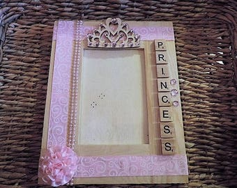Princess picture frame - ready to ship