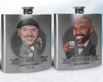 Groomsmen Flasks, Groomsmen Gifts Flasks, Personalized Groomsmen Flasks, Flasks for Groomsmen Gifts, Custom Flasks for groomsmen, Flasks Set