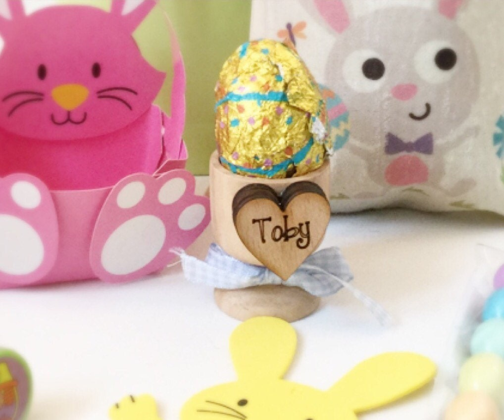 Easter gift easter basket personalised egg cups babys 1st babys 1st easter personalised easter basket gallery photo gallery photo gallery photo negle Choice Image