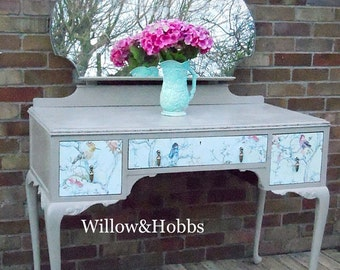 Example -  Sold. Louis Style, Queen Anne Style, Re-loved Dressing Table, Upcycled, Painted Furniture, Annie Sloan,Renovated