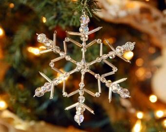 Snowflake Ornament-Suncatcher