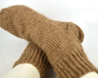 Men's socks, knitted socks, socks made of camel wool, Russian socks, made in Russia, warm socks, winter socks, wool socks men
