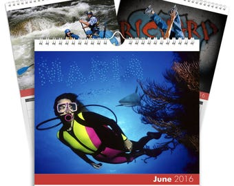 Xtreme Sports Desktop Calendar