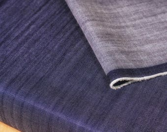 Blue Tencel Slub Denim Fabric By 1/4 Metre, Woven Tencel  Fabric, Soft Denim Fabric, Yarn Dyed Fabric, Lightweight Eco Friendly Fabric
