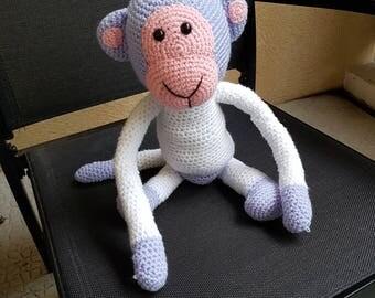 Monkey plush