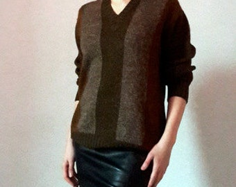 Pringle Brown Clay Wool Sweater