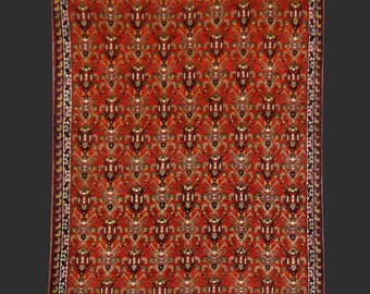 Moroccan rug 9.4 x 7.3 ft / 290 x 220 cm Bohemian Boho Style, carpet Morocco Boujad rug semi antique vintage
