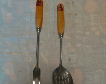 Matching A&J fork and spoon