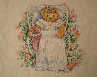 Bear Sitting In A Chair