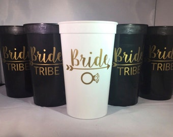 Bride Tribe 22oz Stadium Cup! Bachelorette Party Cups.