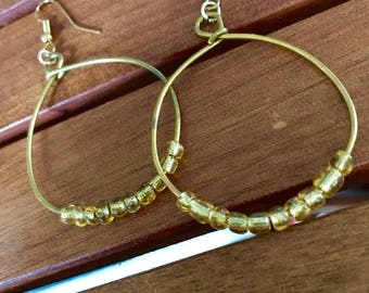 Tanzanian Handmade Hoop Earrings