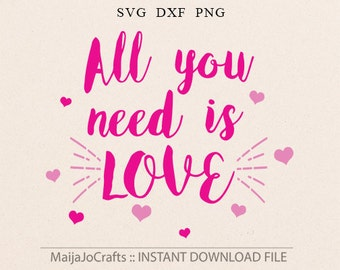 Summer SVG love svg Hearts svg Sayings svg Girl svg Dxf files for Silhouette Cricut downloads Silhouette designs Cricut designs Cricut files
