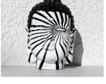 Handpainted Buddha Head Sculpture (Many Designs)