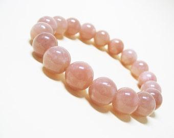 Sunstone Bracelet Chakra Bracelet Healing Bracelet Spiritual Bracelet Wrist Mala Bracelet Yoga Bracelet Gemstone Bracelet 10mm Sunstone