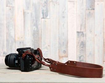 Handcrafted Brown photo belt