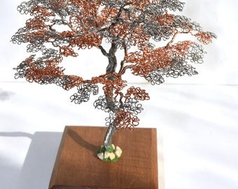 tree gift idea home decor birthday gift decor housewarming gift copper womens gift anniversary gift gifts - Copper Home Decor