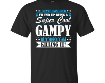 Gampy, Gampy Gifts, Gampy Shirt, Super Cool Gampy, Gifts For Gampy, Gampy Tshirt