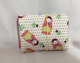 Russian Doll Credit Card/Business Card Holder/Wallet