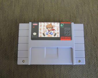 Wonder Project J Super Nintendo SNES