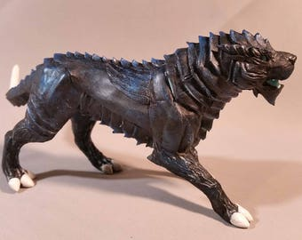 Thunder Dash ArcheAge mount fanart fantasy sculpture handmade