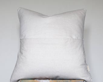 RESERVED Authentic White African/Black Mud Cloth Pillows
