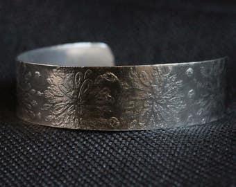 Argentium Etched Bracelet (031217-005)