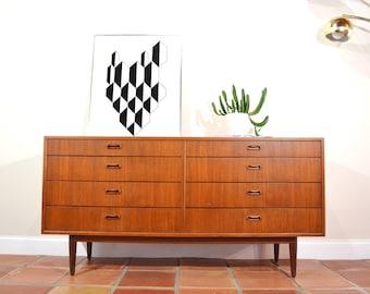 Mid Century Dresser or Credenza