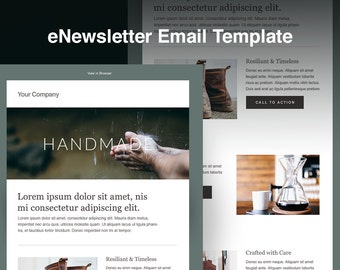 Email blast template etsy for Email blast template free
