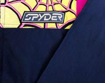 Vintage Spyder Windbreaker Jacket Made in Hong Kong Medium