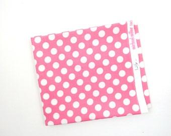 Girl Ta Dot -  end of bolt 1/4 YARD - HALF YARD - Michael Miller - Cotton Fabric - Quilting Fabric