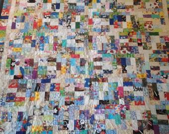 Children's twin size quilt