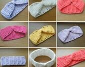 Baby headband preemie newborn headband reborn crochet baby baby girl toddler headband baby gift crochet headband baby shower gift