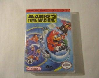 Mario's Time Machine  Custom NES - Nintendo Case (No Game)