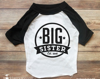 Dog Big Sister Shirt - Dog Pregnancy Announcement shirt - Dog Shirt Big Sister - Dog Shirt - Dog Baby Announcement - New Baby Announcement
