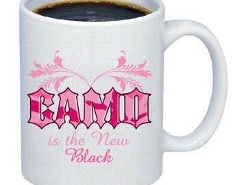 Camo is the  new black mug
