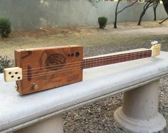 Custom Cigar Box Guitar, 4-string