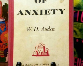 an analysis of the poem the age of anxiety by w h auden Analysis of the age of anxiety by wh auden the themes and ideas in auden's the age of anxiety reflect his belief that man's quest for self actualization is in vain.