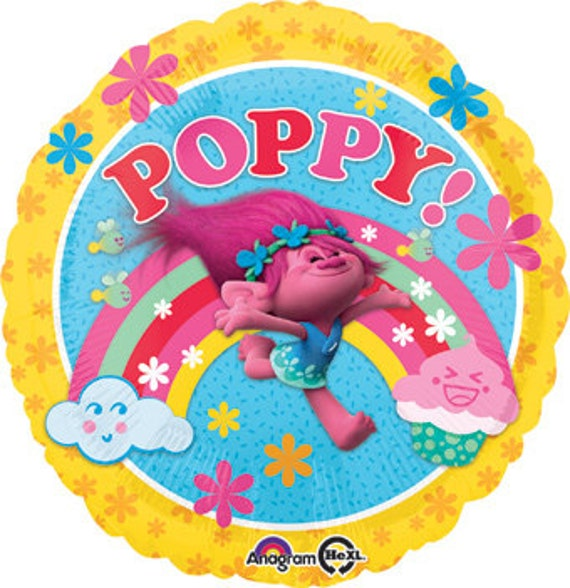 Trolls Poppy Balloon Centerpiece Decorations