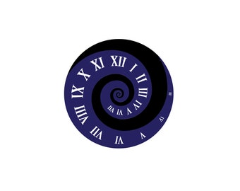 """Fibonacci """"Time"""" Decal - Doctor Who Decal / Vinyl Decal / Doctor Who Gift"""