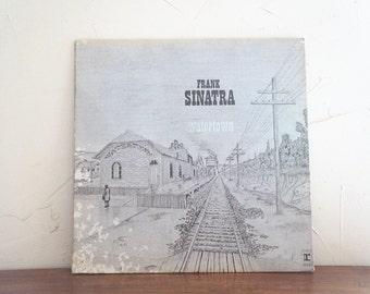 Frank Sinatra Watertown LP Record 1960s Vintage Music