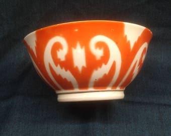 Vintage Uzbek bowl