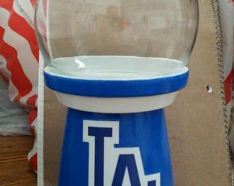Dodgers gumball machine