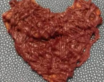 Candied Bacon Jerky Chocolate Drizzle Hearts Mother's Day