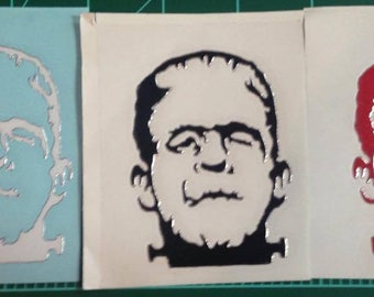 Decal STICKER Small Frankenstein