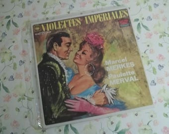 Marcel Merkes Paulette Merval Violettes Impériales LP
