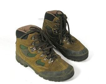 Women's Hiking Boots Tecnica Woman's Hiking Boots Vtg 80's Women's Hiking Boots Vintage Tecnica Boots Vtg Hiking Boots 80's Hiking Boots
