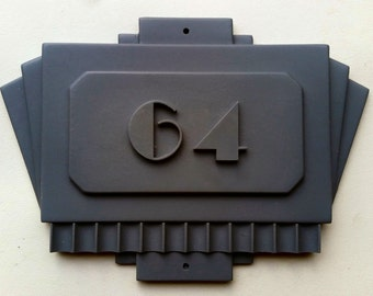 American Horror Story: Hotel - Room 64 door plaque replica