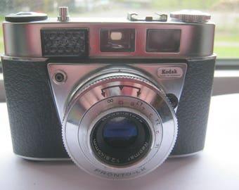 Antique Kodak Retinette 1B,Sucherkamera camera with Reomar 2.8/45 mm Öptik Germany ca. 1956-good working condition