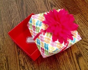 Beach-themed Gift Box